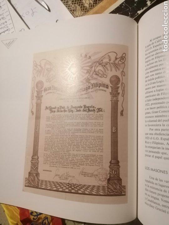 Libros: LA MASONERÍA ESPAÑOLA - ALICANTE LIBRO DE LA EXPOSICIÓN - Foto 5 - 222278541