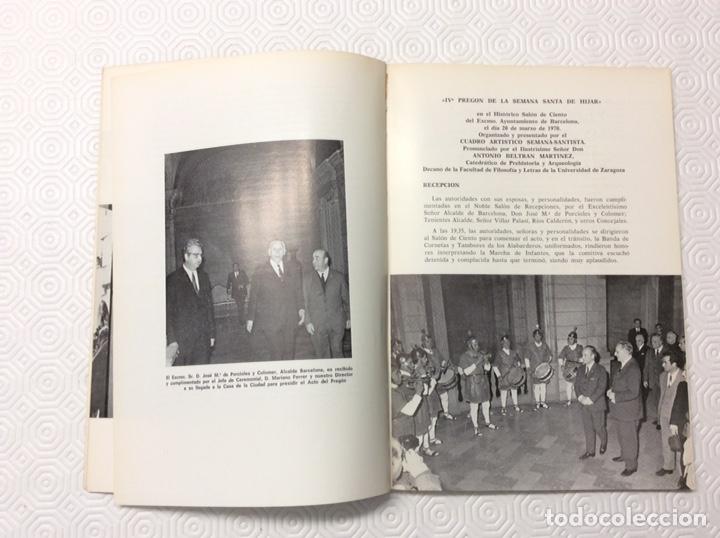 Libros: Semana Santa en Hijar 1973 - Foto 2 - 222682061
