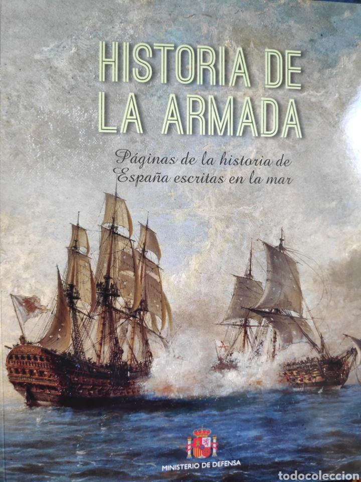 Libros: Historia de la Armada + Juan Sebastián de Elcano, Embajador y Navegante - Foto 2 - 222886610