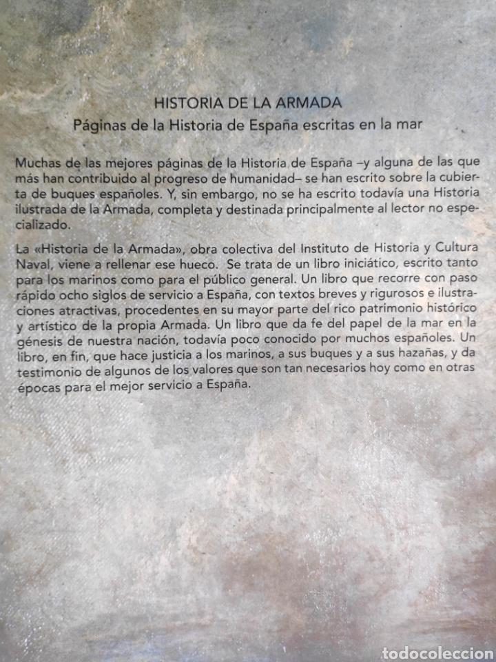 Libros: Historia de la Armada + Juan Sebastián de Elcano, Embajador y Navegante - Foto 3 - 222886610