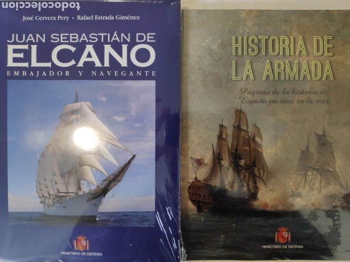 HISTORIA DE LA ARMADA + JUAN SEBASTIÁN DE ELCANO, EMBAJADOR Y NAVEGANTE (Libros Nuevos - Historia - Historia de España)