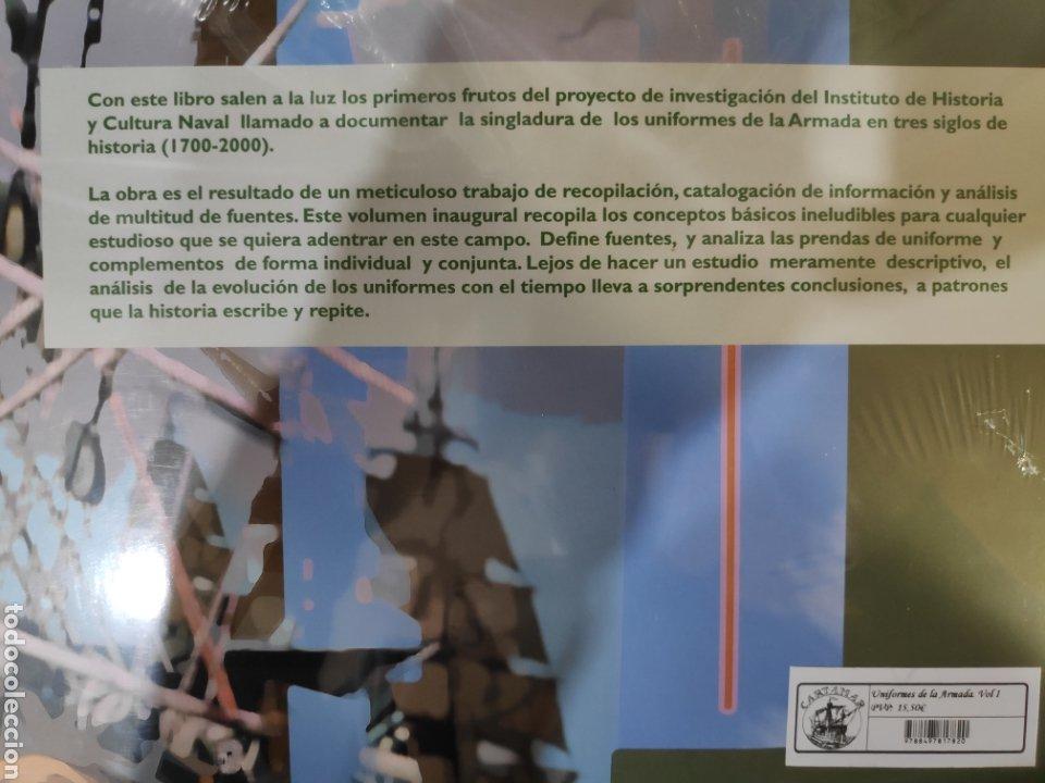 Libros: Uniformes de la Armada. Tres Siglos de Historia (1700-2000). Volumen I - Foto 2 - 223889528