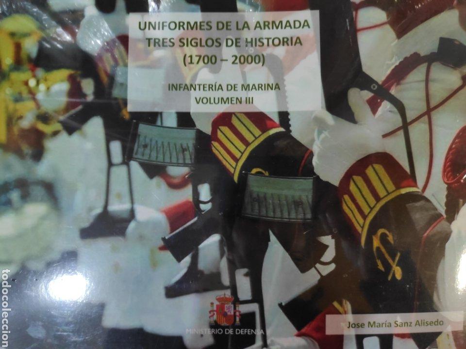 UNIFORMES DE LA ARMADA. TRES SIGLOS DE HISTORIA (1700 - 2000). VOLUMEN III (Libros Nuevos - Historia - Historia de España)