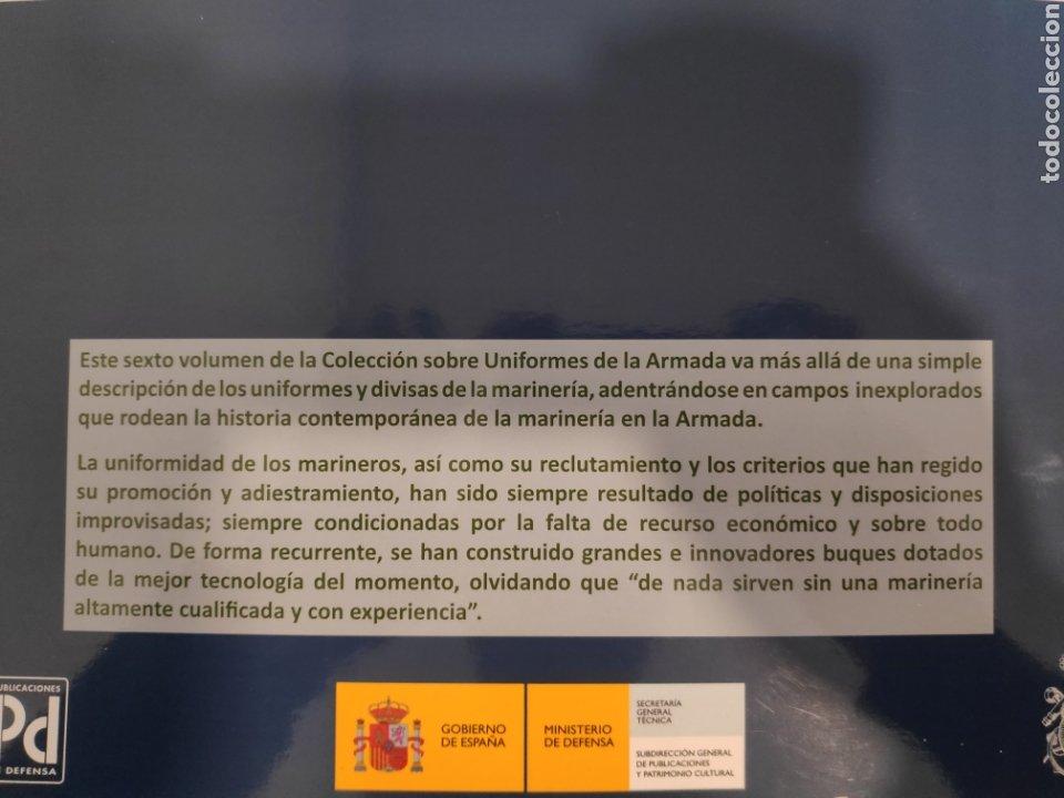 Libros: Uniformes de la Armada. Tres Siglos de Historia. Volumen VI - Foto 2 - 244676560