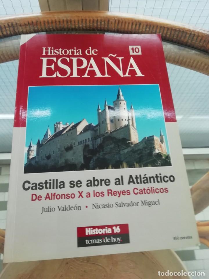 CASTILLA SE ABRE AL ATLÁNTICO, DE ALFONSO X A LOS REYES CATÓLICOS (Libros Nuevos - Historia - Historia de España)