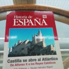 Libros: CASTILLA SE ABRE AL ATLÁNTICO, DE ALFONSO X A LOS REYES CATÓLICOS. Lote 227567790