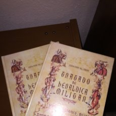 Livres: TRATADO DE HERÁLDICA MILITAR. LIBROS I Y II. III Y IV. Lote 227590195