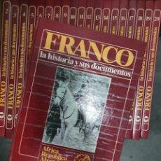 Libros: FRANCO LA HISTORIA Y SUS DOCUMENTOS. Lote 227861345