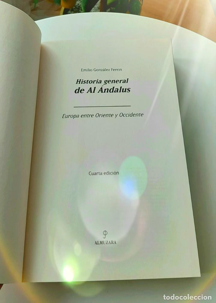Libros: Hispania Andalusí. González Ferrín 2016. Alhambra 2007. Pirenne 2015. Anes 2004. Trenllet 2017 - Foto 4 - 229902375