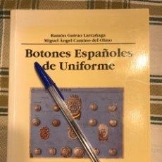 Libros: BOTONES ESPAÑOLES DE UNIFORME.. Lote 230059500