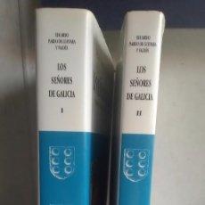 Livres: LOS SEÑORES DE GALICIA. EDUARDO PARDO DE GUEVARA Y VALDÉS. FUNDACIÓN BARRIÉ DE LA MAZA. 2000. Lote 232441695