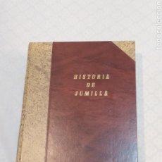 Livros: LIBRO HISTORIA DE JUMILLA. Lote 233808195