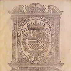 Libros: LA REGLA Y ESTABLECIMIENTO DE LA CABALLERÍA DE SANTIAGO DE LA ESPADA.. Lote 235155590