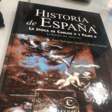 Libros: HISTORIA DE ESPAÑA LA EPOCA DE CARLOS V Y FELIPE II - ESPASA. Lote 235633725