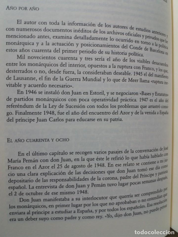 Libros: IMPRESCINDIBLE LIBRO SOBRE LA RESTAURACION DE LA MONARQUIA PARLAMENTARIA EN LA ESPAÑA ACTUAL - Foto 8 - 236236950