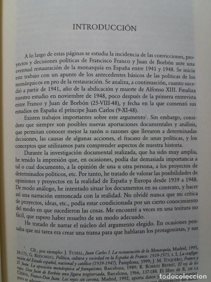 Libros: IMPRESCINDIBLE LIBRO SOBRE LA RESTAURACION DE LA MONARQUIA PARLAMENTARIA EN LA ESPAÑA ACTUAL - Foto 10 - 236236950