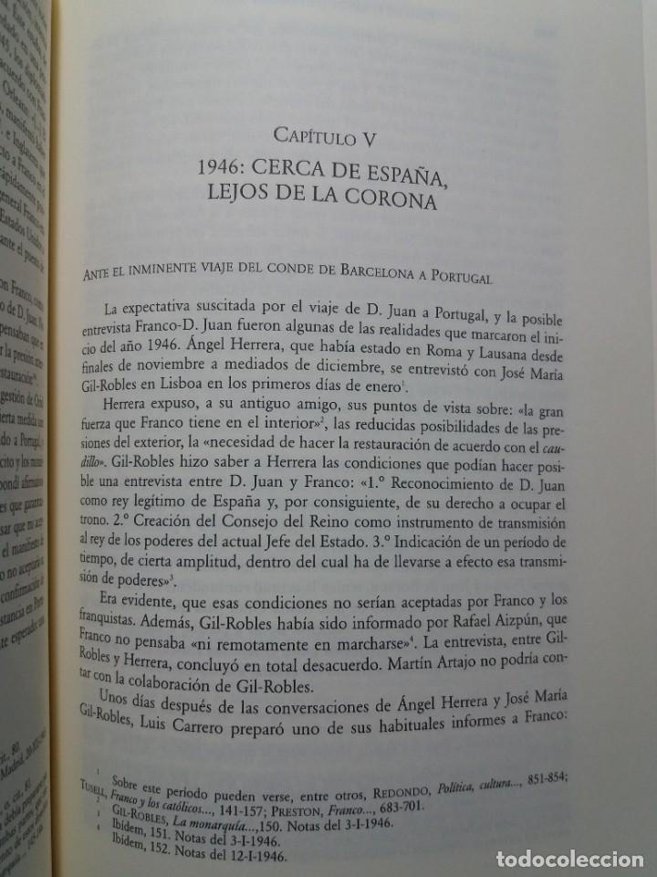 Libros: IMPRESCINDIBLE LIBRO SOBRE LA RESTAURACION DE LA MONARQUIA PARLAMENTARIA EN LA ESPAÑA ACTUAL - Foto 21 - 236236950