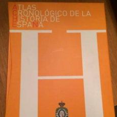 Livres: ATLAS CRONOLÓGICO DE LA HISTORIA DE LA ESPAÑA. Lote 238498225