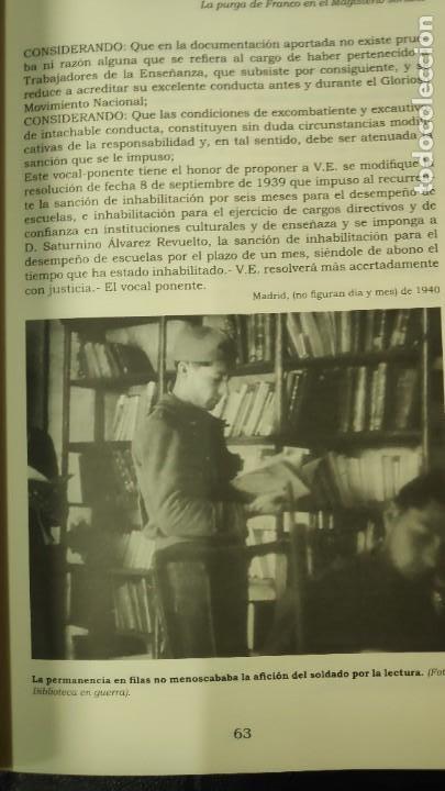 Libros: LA PURGA DE FRANCO EN EL MAGISTERIO SORIANO ( 2 TOMOS COMPLETA ) ANTONIO HERNANDEZ GARCIA - Foto 14 - 240688135