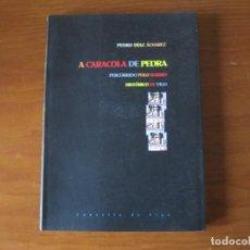 Libros: A CARACOLA DE PEDRA, VIGO. PEDRO DÍAZ ALVAREZ. Lote 242972470