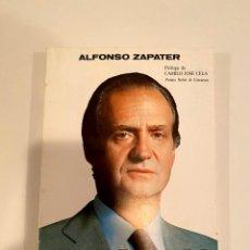 """Libros: """"JUAN CARLOS HOMBRE"""" - ALFONSO ZAPATER. Lote 244969935"""