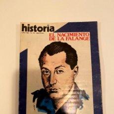 """Libros: """"EL NACIMIENTO DE LA FALANGE""""- JUAN A. CALATRAVA Y MARIANO GONZALEZ. Lote 244976825"""