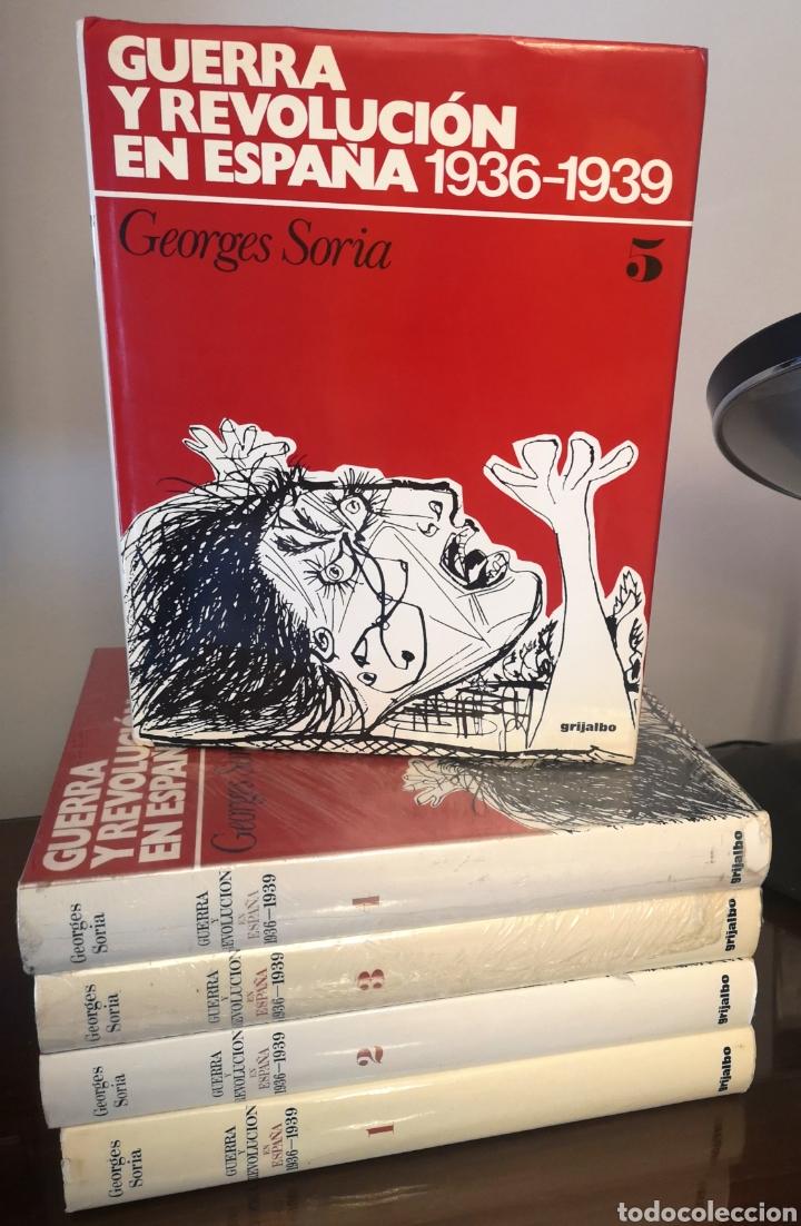 GUERRA Y REVOLUCIÓN EN ESPAÑA, GEORGES SORIA (Libros Nuevos - Historia - Historia de España)