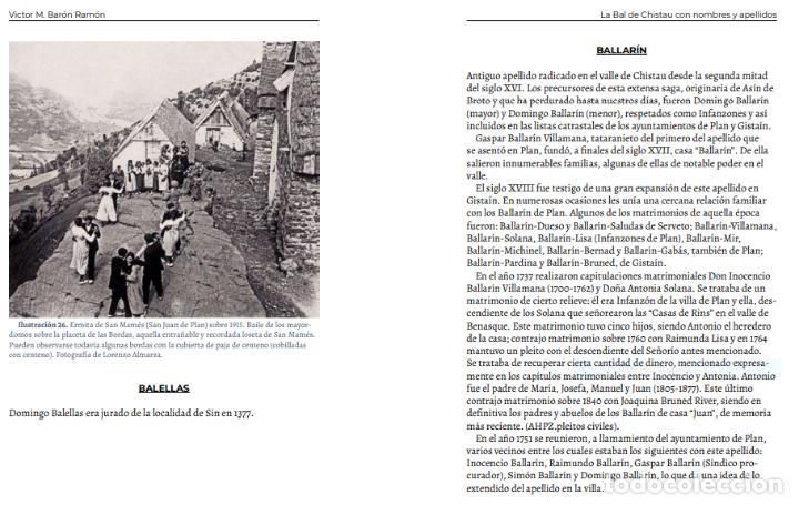 Libros: La Bal de Chistau con nombres y apellidos - Foto 6 - 245488775