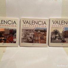 Libros: LOTE DE TRES MARAVILLOSOS LIBROS SOBRE LA VALENCIA ANTIGUA. Lote 245946950
