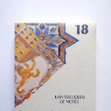 Libros: BIBLIOTECA DE CULTURA ANDALUZA. HISTORIA. LA CIVILIZACIÓN DE TARTESSOS. JUAN MALUQUER DE MOTES. Lote 246236880