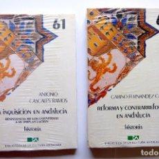 Libros: BIBLIOTECA DE CULTURA ANDALUZA. HISTORIA. + REFORMA Y CONTRARREFORMA. Lote 246242405