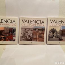 Libros: LOTE DE TRES MARAVILLOSOS LIBROS SOBRE LA VALENCIA ANTIGUA. Lote 288638483