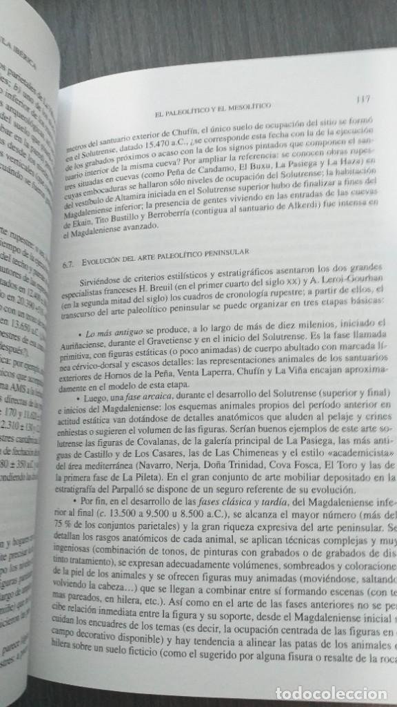 Libros: *** LIBRO - HISTORIA *** ACADEMICO *** PREHISTORIA DE LA PENINSULA IBERICA *** - Foto 6 - 248635335