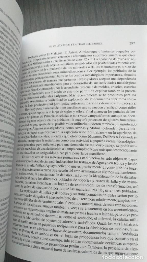 Libros: *** LIBRO - HISTORIA *** ACADEMICO *** PREHISTORIA DE LA PENINSULA IBERICA *** - Foto 8 - 248635335