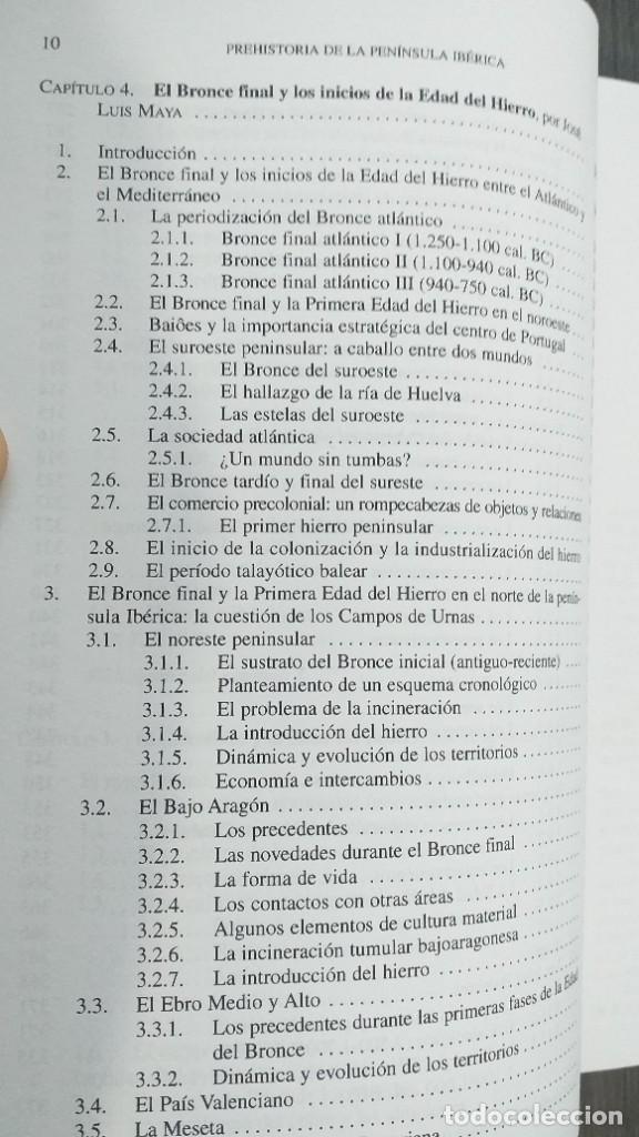 Libros: *** LIBRO - HISTORIA *** ACADEMICO *** PREHISTORIA DE LA PENINSULA IBERICA *** - Foto 17 - 248635335
