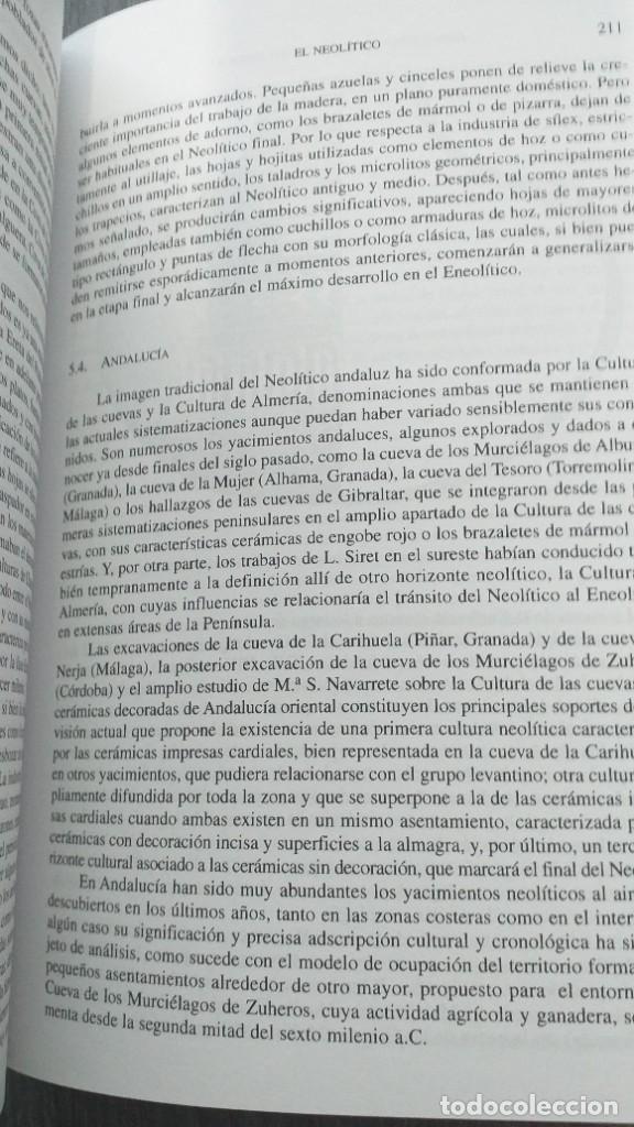 Libros: *** LIBRO - HISTORIA *** ACADEMICO *** PREHISTORIA DE LA PENINSULA IBERICA *** - Foto 19 - 248635335