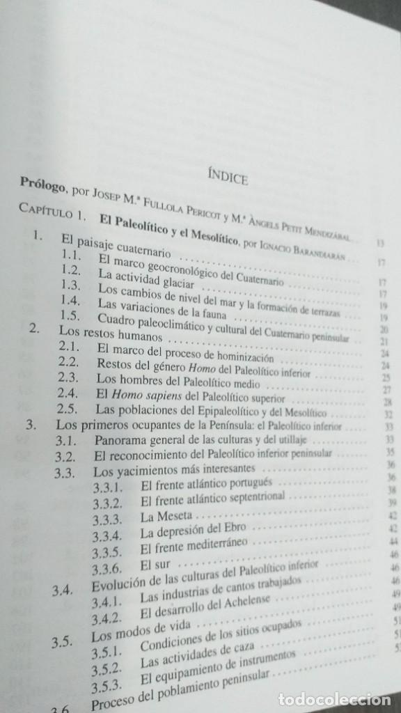 Libros: *** LIBRO - HISTORIA *** ACADEMICO *** PREHISTORIA DE LA PENINSULA IBERICA *** - Foto 22 - 248635335