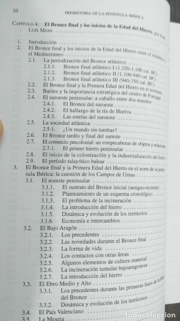 Libros: *** LIBRO - HISTORIA *** ACADEMICO *** PREHISTORIA DE LA PENINSULA IBERICA *** - Foto 23 - 248635335