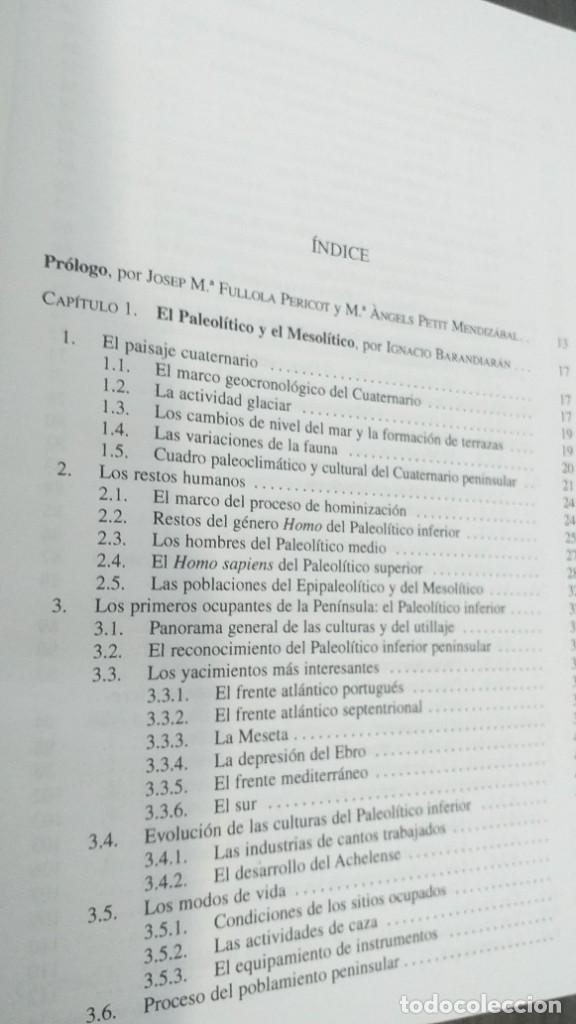 Libros: *** LIBRO - HISTORIA *** ACADEMICO *** PREHISTORIA DE LA PENINSULA IBERICA *** - Foto 24 - 248635335