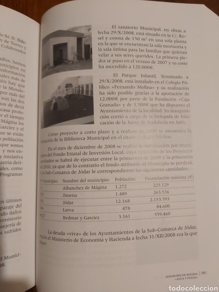 Libros: Albanchez de Magina 《agua y fuego》de José Manuel Toyano Viedma - Foto 2 - 251924170