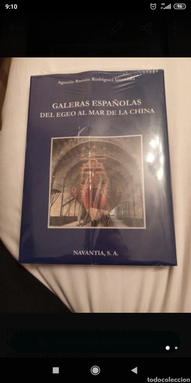 GALERAS ESPAÑOLAS DEL MAR DEL EGEO AL MAR DE LA CHINA (Libros Nuevos - Historia - Historia de España)