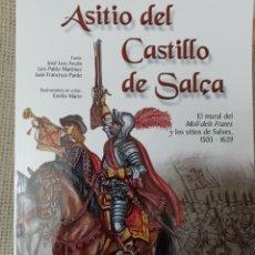 Libros: SITIO DEL CASTILLO DE SALÇA. EL MURAL DEL MOLÍ DEL FRARES. Lote 253731340