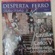 Libros: MÁS DE DOS REVISTAS, ENVÍO GRATIS. DESPERTA FERRO MODERNA 51. CASTILLA CONTRA CARLOS V. Lote 253733540