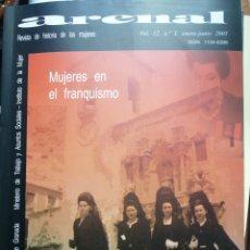 Libros: ARENAL. REVISTA DE HISTORIA DE LAS MUJERES. VOL. 12, Nº 1 (ENERO - JUNIO) 2005. Lote 253976365
