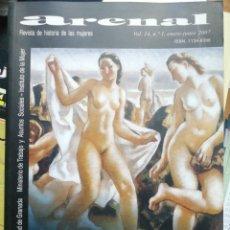 Libros: ARENA. REVISTA DE LA HISTORIA DE LAS MUJERES. VOL. 14, N. 1. (ENEROO-JUNIO) AÑO 2007. Lote 253977075