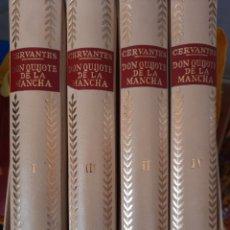 Libri: CERVANTES,DON QUIJOTE DE LA MANCHA,4 TOMOS. Lote 254021145