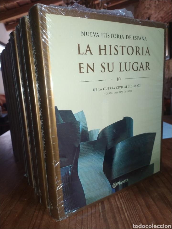 Libros: Ocasión! La Historia en su lugar, Nueva Historia de España. Editorial Planeta. Nuevo a estrenar - Foto 2 - 257246285