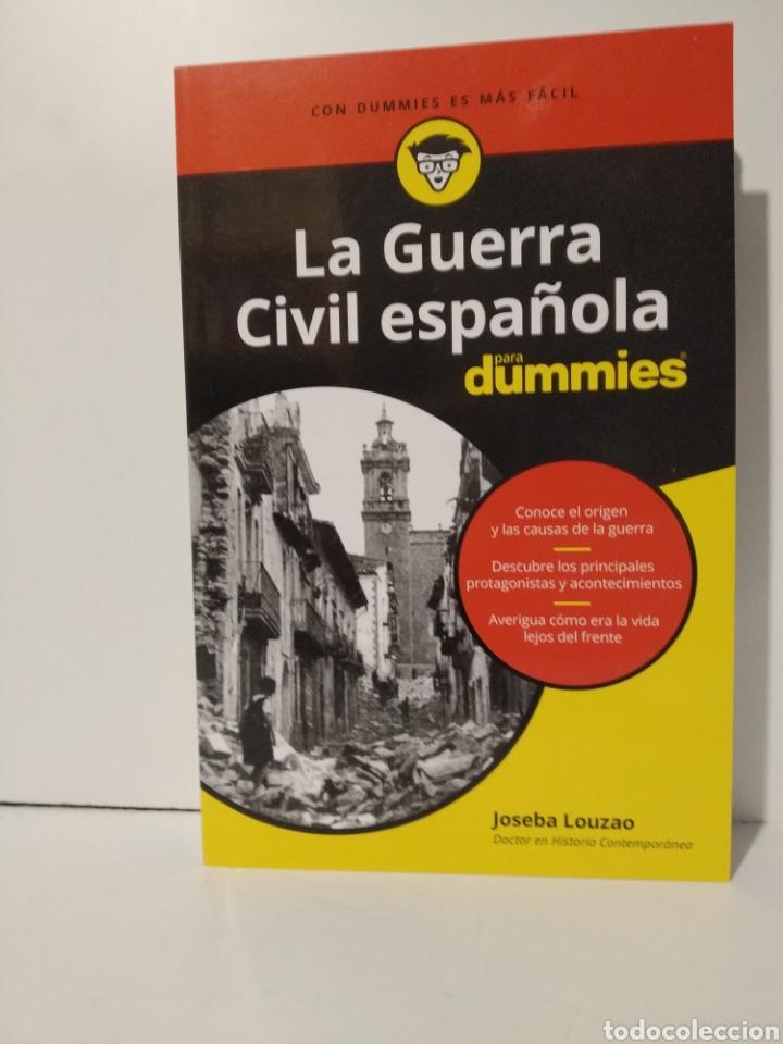 LA GUERRA CIVIL ESPAÑOLA PARA DUMMIES JOSEBA LOUZAO. NOVEDAD (Libros Nuevos - Historia - Historia de España)