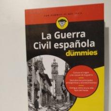 Libros: LA GUERRA CIVIL ESPAÑOLA PARA DUMMIES JOSEBA LOUZAO. NOVEDAD. Lote 257545285
