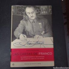 Libri: LAS CARTAS DE FRANCO , JESÚS PALACIOS , TAPA DURA. Lote 261116950